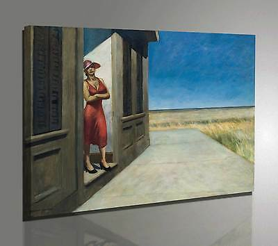 Quadro Vernice Pennellate Hopper South Carolina Morning Stampa su Tela Canvas