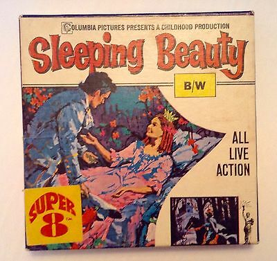 Sleeping Beauty Columbia Pictures B/W, Super 8