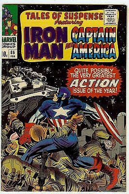 Tales of Suspense #86 (Marvel 1967 vf- 7.5) Colan & Kirby. Guide $41.50 (£31.00)