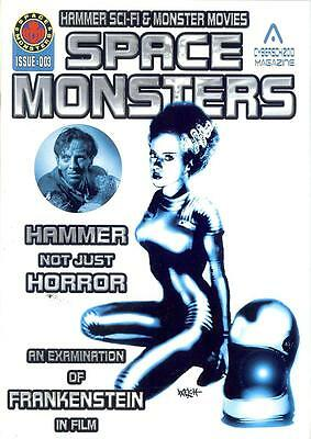 Space Monsters #3 (UK 2014, 80 pages) Emily Booth writes; Hammer Films Special