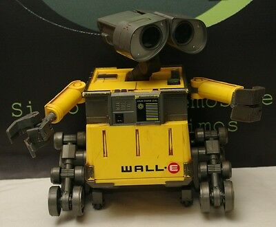 Wall E Remote Control Robot Thinkway Toys U Command  NO REMOTE INCLUDED READ