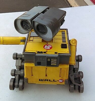 Disney Pixar Wall-E Electronic Interactive by Thinkway No Tracks No Remote Works