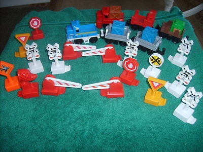 Lot of Fisher Price GEO TRAX  Accessories