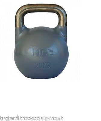 Kettlebell Pro Grade 20 Kg Cross Fit Core Strength Training