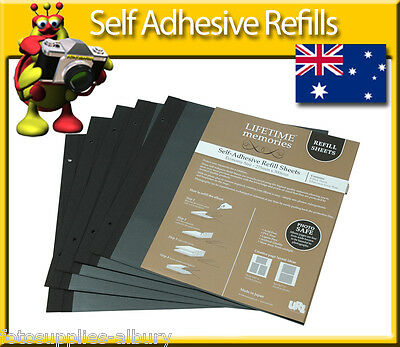 Self Adhesive Refill Pages Economy Jumbo Super Jumbo x3 Packs