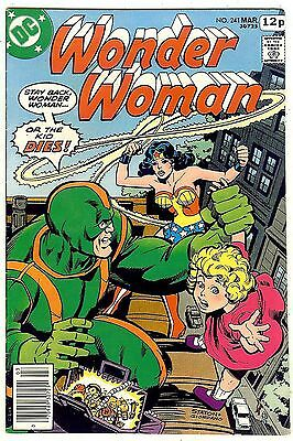 Wonder Woman #241 (1978, vf- 7.5) Guide value: $9.00 (£6.00) in this grade