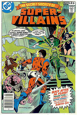Secret Society of Super Villains #14 (DC 1978 vf 8.0) guide value: $6.00 (£4.00)