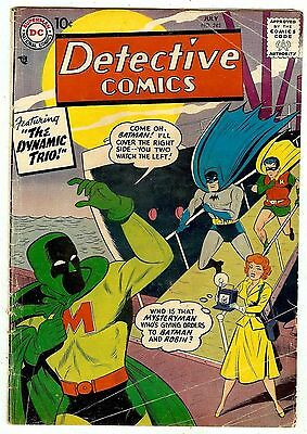 DETECTIVE COMICS #245 (1957 vg/fn 5.0) guide value in this grade: $100 (£66.00)
