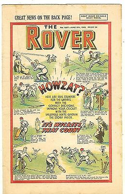 The Rover 1207 (June 5, 1948) mid-high grade copy with very light margin damage
