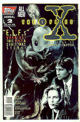 THE X FILES ANNUAL #2 (1996 Topps USA) 52 pages