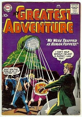 My Greatest Adventure #30 (DC 1959 fn- 5.5) guide value: $37.50 (£24.50)