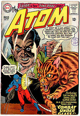 The Atom #21 (DC 1965; vf- 7.5) Price guide value in this grade: $48 (£39)