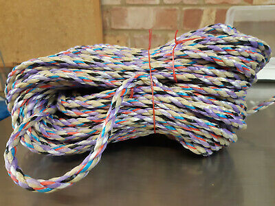 150Ft Of New 8Mm Rope Boat Mooring Anchor  Dock Lines Bouys Marine