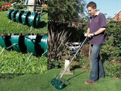 Remi Tools ROLLING LAWN AERATOR FOR PERFECT LAWNS GRASS AERATOR same as Greenkey