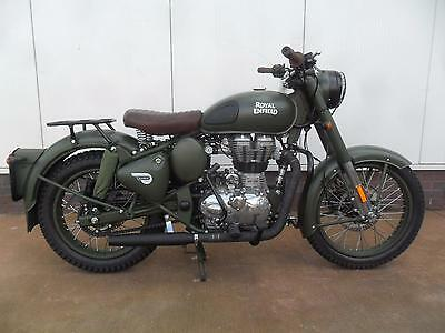 Royal Enfield Classic 500 Battle Green Limited Edition