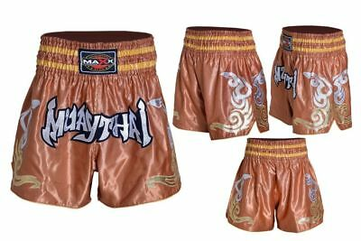 NEW Muay Thai Fight Shorts MMA Grappling Kick Boxing Trunks Martial Arts UFC