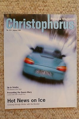Porsche Christophorus Magazine English #270 January 1998 RARE!! Awesome L@@K