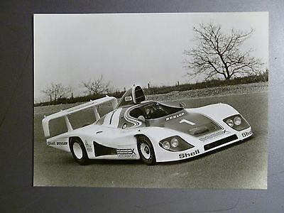 1980 Porsche 936 Spyder Factory Press Photo, Foto RARE!! Awesome L@@K