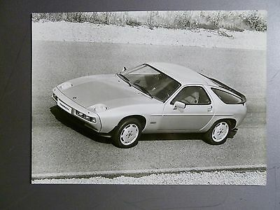 1980 Porsche 928 S Coupe Factory Press Photo, Foto RARE!! Awesome L@@K