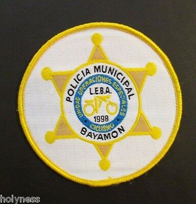 Puerto Rico Special Operations Police Patch / Policia Municipal Bayamon Pr
