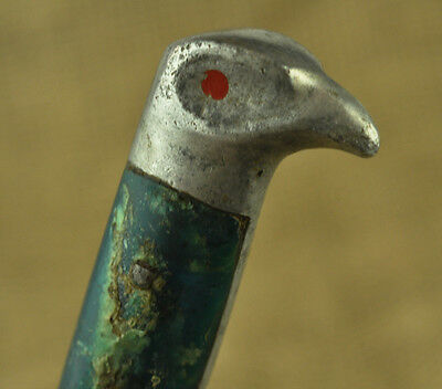 Vintage Hunting Knife With Eagle Head Handle