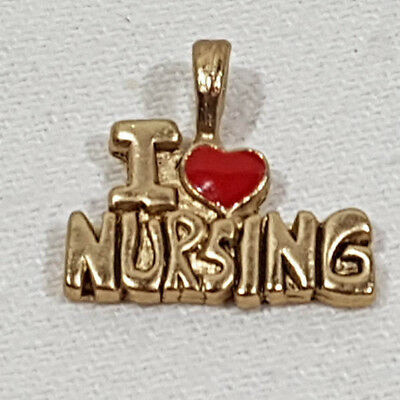 I Love Nursing Charm - NEW - Lot of 1 only