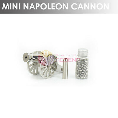 NEW 2-GEN Mini Signal Cannon 316L Stainless Steel Desk Cannon Good Gift
