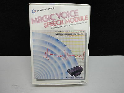 Commodore Magic Voice Speech Module, original verpackt