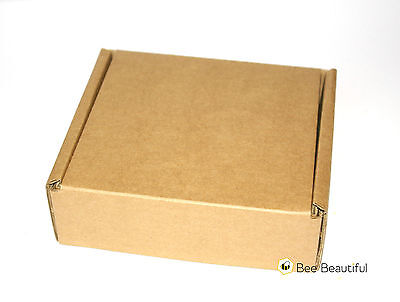 100 Small Brown Cardboard Die Cut Postal shipping Boxes
