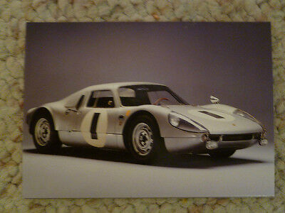 Porsche Factory Museum Postcard 1964 Carrera GTS Type 904 Unusual RARE!! Awesome