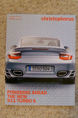 Porsche Christophorus Magazine English #345 August 2010 RARE!! Awesome L@@K