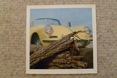 1963 Porsche 356B Showroom Advertising Sales Poster RARE!! Awesome L@@K