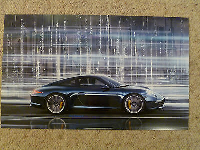 2013 Porsche 911 Carrera S Coupe Showroom Advertising Poster RARE Awesome L@@K