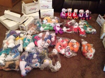 Limited Treasures Coin Bear Lot States Huge Lot Most Are New In Plastic 50 Bear