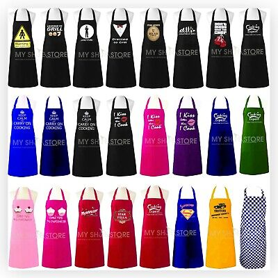 Adult Novelty Aprons Bbq Party Funny Present Gift Chefs Kitchen Cooking Craft