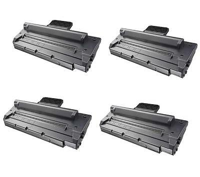 Non-Oem 4 Pk Toner Cartridge For Samsung Scx-4100D3 Compatible With Scx-4100
