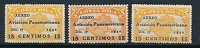 Costa Rica 1963 Air Mail MM A44k-6