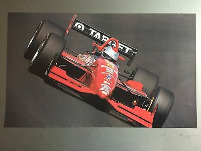 1995 Mario Andretti Kmart Texaco Indycar Print, Picture, Poster RARE!! Awesome