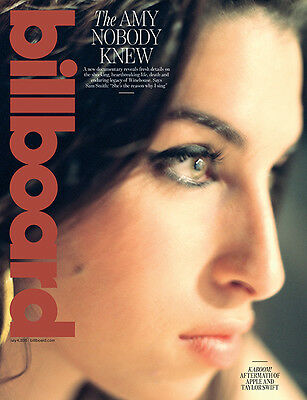 Billboard Magazine,Amy Winehouse,Tori Kelly NEW