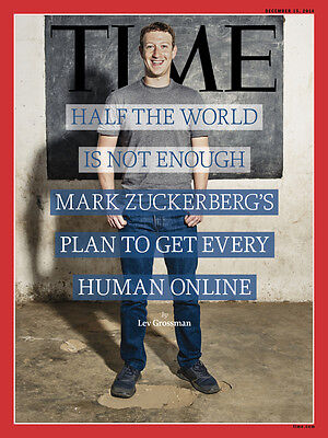 Time Magazine, Mark Zuckerberg Facebook NEW
