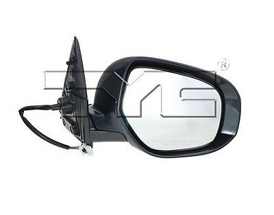 TYC Left Side Mirror Assy for Subaru Forester Power Non Heat 2009-2010 Models