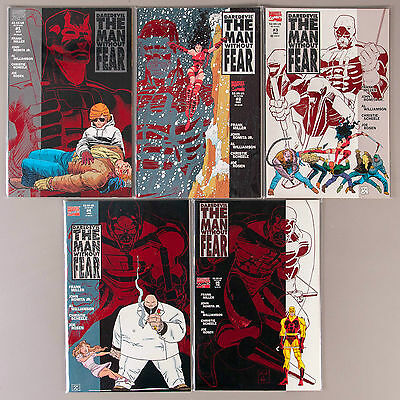 Daredevil the Man without Fear #1-5, Full Run, Lot of 5 comics, compl. VF set