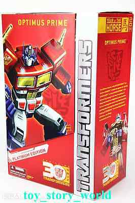 DHL 4d Hasbro Transformers Platinum Year Of The Horse Masterpiece Optimus Prime