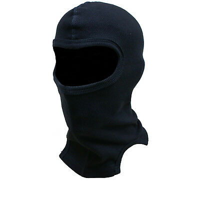 Black Thermal Motorcycle Balaclava Warm Bike Helmet Neck Face Motorbike Head