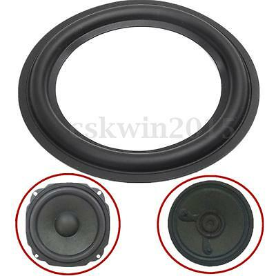 "2Pcs 6.1"" Black Speaker Surround Circle Repair Ring Edge For Bass Woofer Horn"