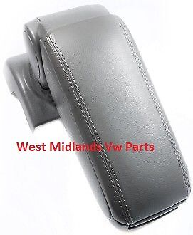 Vw Golf V Mk5 2004-2009 Armrest Black Eco Leather Aftermarket