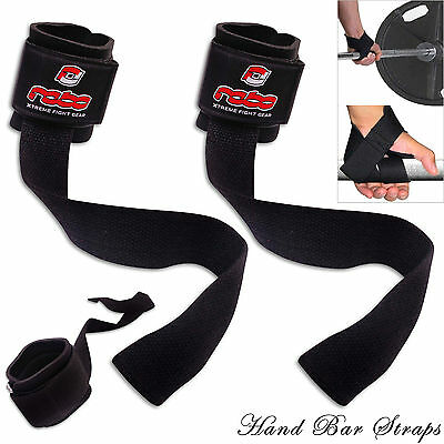Gym Weight Lifting Hand Straps Hand Bar Wrist Support Padded Straps