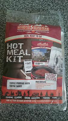 Toffee Pudding & Toffee Sauce Hot Meal Kit Ration Pack MRE Short date: 31/06/16