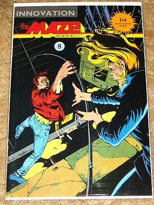 Innovation Comics The Maze Agency 1St Issue Bagged & Boarded