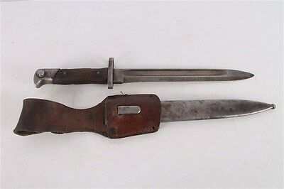 Rare WWI Original Romanian Mannlicher M88 NCO Bayonet with Scabbard and Frog.